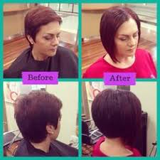 extensions for pixie cut hair added extensions to help grow out pixie cut hairs n cuts