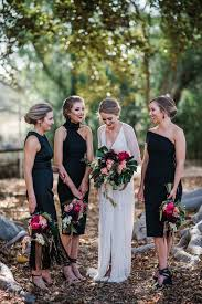 black bridesmaid dresses how to style black bridesmaid dresses the style guide fmag