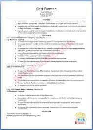 Fresher Electrical Engineer Resume Sample by Marine Chief Engineer Resume Sample Resume For Your Job Application