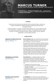 Director Of Marketing Resume Examples by Director Of Client Services Resume Samples Visualcv Resume