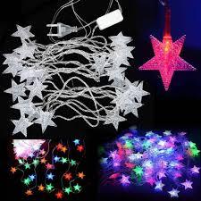 cheap wholesale 5m 28led pentagram string fairy cool light
