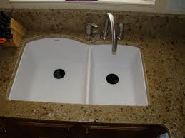 White Granite Kitchen Sink Installing Granite Composite Sinks Home Romances