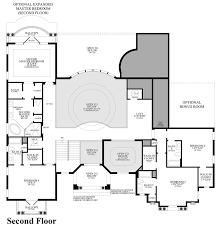 U Shaped House Plans With Pool In Middle by Casabella At Windermere The Villa Lago Home Design