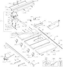 dewalt table saw dw746 dewalt dw746 parts list and diagram type 1 ereplacementparts com