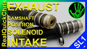 how to replace an exhaust and or intake camshaft position solenoid
