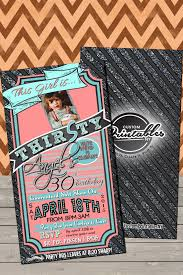 dirty 30 birthday invitations this is by customprintablesny