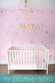 a baby u0027s mint and pink nursery the sweetest digs