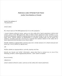 best ideas of sample reference letter for landlord from employer