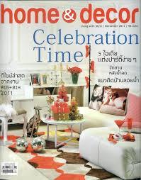 Home Decoration Magazines News U0026 Media Home U0026 Decor Magazine December 2011 Thailand