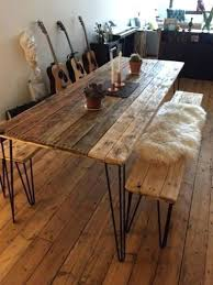 dining table 2x4 dining table plans bench top hairpin legs 2x4