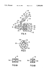 Patent Us5389090 Guiding Catheter With Straightening Dilator