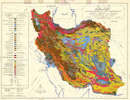 map iran the soil maps of asia display maps