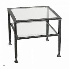 Powell Black Glass Top Side Glass Metal End Tables Luxury Coffee Chrome Small Black