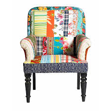patchwork armchair by out there interiors notonthehighstreet com