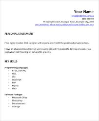 Web Designer Resume Examples by 28 Free Fresher Resume Templates Free U0026 Premium Templates