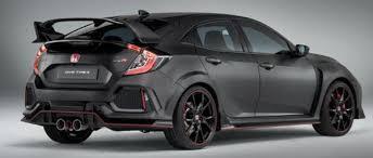 2018 honda civic type r sedan redesign auto car previews