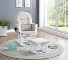 ottomans reclining glider rocker nursery glider rocker recliner