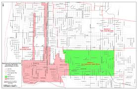 Chicago Parking Zone Map by Building Developmental Services Department