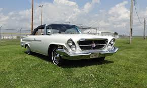 1962 chrysler 300 h convertible in white paint u0026 engine start on