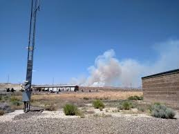 Wildfire Near Reno by Oil Well Fire Near Elko Contained At 7500 Acres