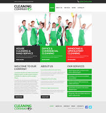 website design 52683 cleaning company services custom website