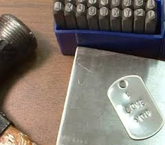 letter u0026 number punch set 1 8 1 8 letter metal punch set
