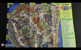 Cedar Fair Parks Map Cedar Point Printed Park Map 2016 Youtube
