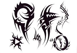 simple tribal bat tattoo design in 2017 real photo pictures