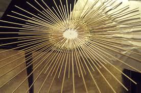home accessories diy golden starburst mirror starburst wall decor