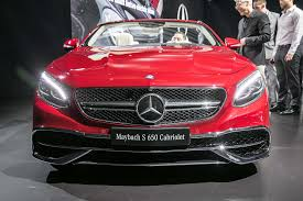mercedes benz maybach rare 2017 mercedes maybach s650 cabriolet debuts in l a motor trend