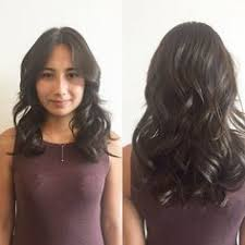 black hair salons in seattle soft textured bob reverse directional curls hairstyles haircut