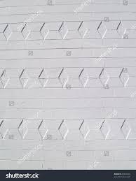 white painted brick block exterior wall stock photo 25925398