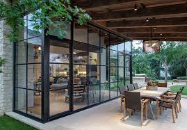millennium home design windows designed to maximize the use of glass the steel doors and windows