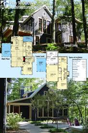 Hillside House Plans With Garage Underneath 58 Best Homes For The Sloping Lot Images On Pinterest House