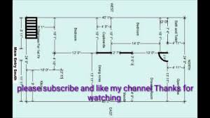 South Facing Duplex House Floor Plans by South Facing Building Plan Youtube