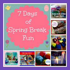 crafts for the kids 7 days of spring break fun