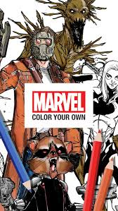 marvel color app store