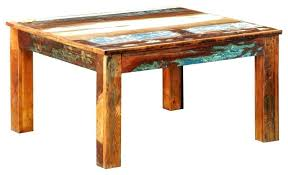 reclaimed wood square dining table square rustic table artcercedilla com