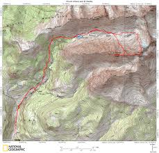 Colorado Fourteeners Map by Mount Wilson And El Diente