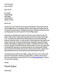 youth counselor cover letter uxhandy com