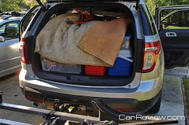 ford explorer trunk space 2011 ford explorer has 80 7 cubic of cargo space car