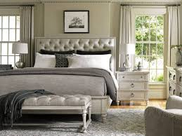 Ashley Furniture Upholstered Bed Grey Upholstered Bed Ideas Tufted King Lexington Oyster Bay 4piece
