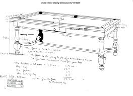 average pool table size sizes of pool tables pool table sizes chart different sizes pool