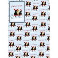 dachshund christmas wrapping paper christmas luxury wrapping paper black cat kitten country