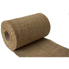 burlap ribbon burlapper 6 quot x 10 yards jute burlap ribbon roll walmart