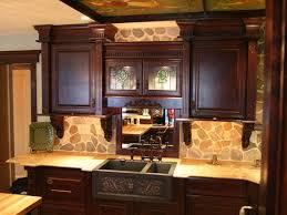 Hammered Copper Apron Front Sink by Copper Kitchen Sink Farmhouse Sinks Wooden Laminated Floor Elegant