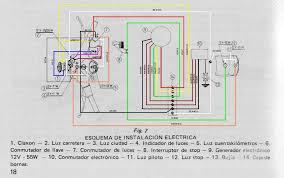spanish vespa ds 200 wiring diagram femsa ignition