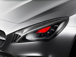 mercedes headlights 2012 mercedes benz concept style coupe headlights news car