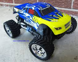 nitro rc monster trucks rc nitro monster truck 1 16 scale 2 4g 4wd rtr yx28604