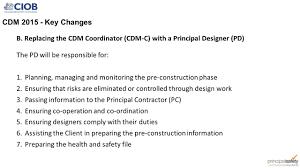 the construction design u0026 management regulations ppt video